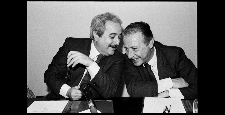 Tony Gentile, Palermo, 27 marzo 1992 – Giovanni Falcone e Paolo Borsellino