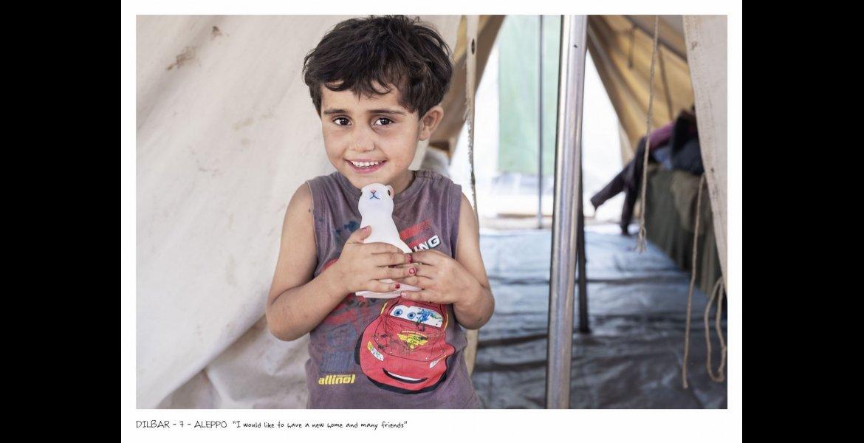 Elena Givone, DREAMS, Dilbar – 7 anni, Aleppo
