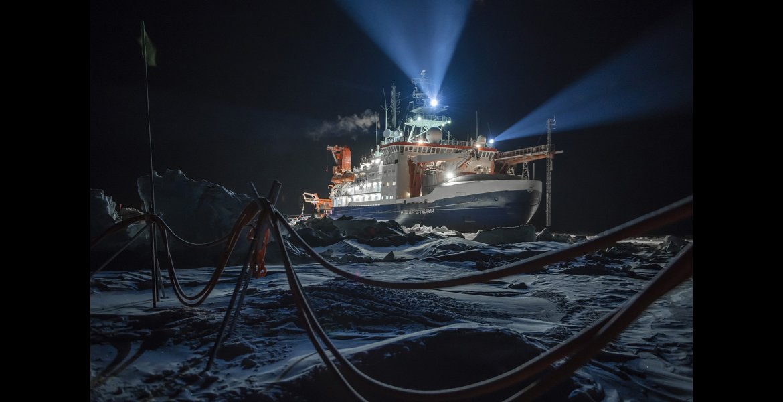 Esther Horvath, POLARNIGHT, La rompighiaccio Polarstern. 12 ottobre 2019