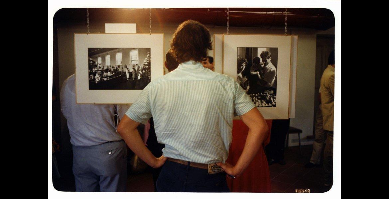Autore sconosciuto, Portfolio in Piazza 1a edizione, 18-19 luglio 1992, Palazzo Vendemini. Archivio fotografico di Palazzo Vendemini